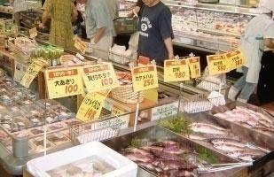新鮮な魚も豊富